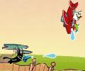 القطة الطائرة