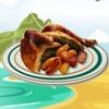 طبخ الدجاج المشوي بالاعشاب