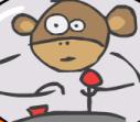 بوبو القرد الفضائي