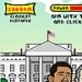 اوباما وبوش