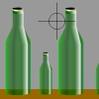 تكسير الزجاجة
