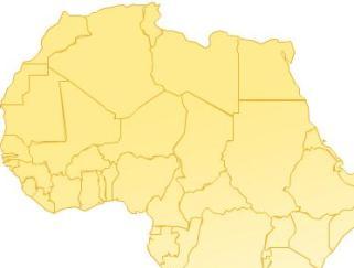خارطة افريقيا