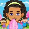 حلوى شعر البنات