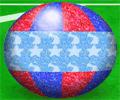 الكرة الملونة